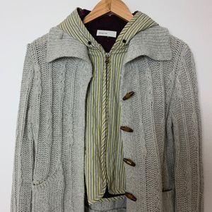 Anthropologie Sleeping on Snow Cardigan Vest